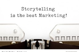 Storytelling Is The Best Marketing On Typewriter