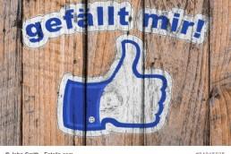 Gefällt mir - Daumen hoch - Facebook