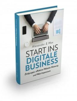 Ebook Start ins digitale Business mit den Themen Zielgruppe, effektive Websit-Nutzung und Web-Impressum